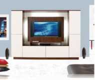 Upton  contemporary tv furniture