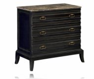 Greystone Marble Topped w/3 Drawer Chest