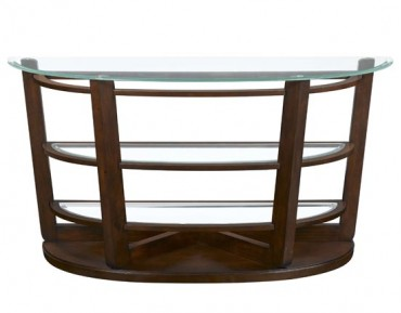 Hudson Demilune Sofa Table