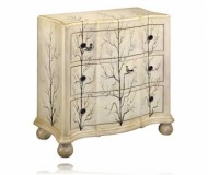 Lauren Three Drawer Accent Chest