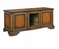 Malden  cherry wood tv stand