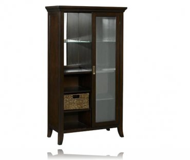 Metro Lighted Curio / Cabinet