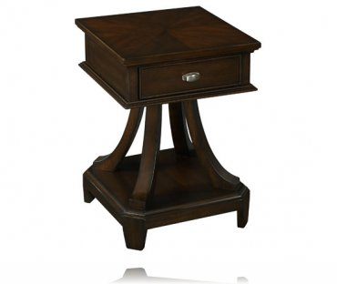 Metro Square Top Chairside Table