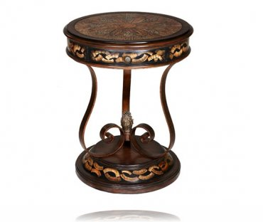 Opulence One Drawer Side Table