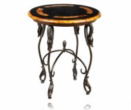 Opulence Round Accent Table