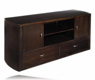 Park  cherry wood tv stand