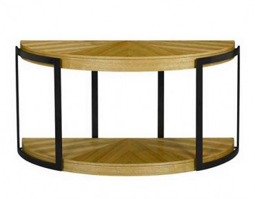 stockholm demilune sofa table occasional tables stein world 628 032. Black Bedroom Furniture Sets. Home Design Ideas