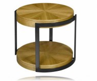 Stockholm Round End Table