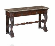 Windsor Two Drawer Carved Console