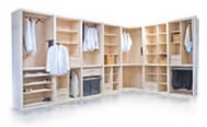 Custom Walk-in Closets